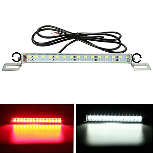 ILS Universal 12V 30 LED Brake License Plate Light Lamp voor motorcycle Scooter Car