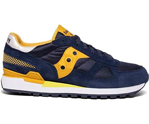 Saucony Moda Hombre 2108743 Zapatillas Azul Poliamida | Temporada Permanente, color Azul,...