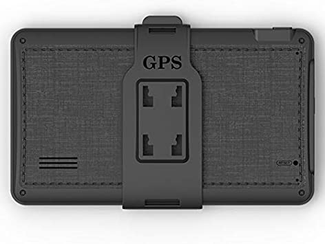 WOVELOT Voiture GPS Navigateur 7 Pouces HD Appuyez sur /écran 8 GB De M/émoire Int/égr/ée 256 MB Ex/écution dun Lecteur De M/émoire Navigation Carte du Moyen-Orient