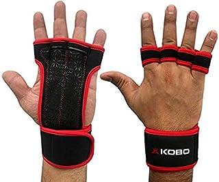 Kobo WTG-18 Neoprene Gym Gloves (Red)