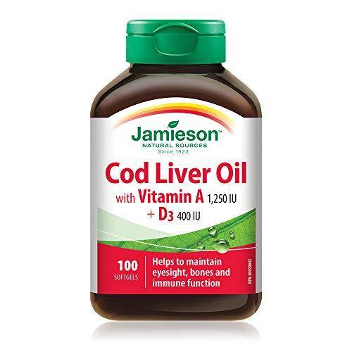 Jamieson-Olio di fegato di merluzzo 100 perle