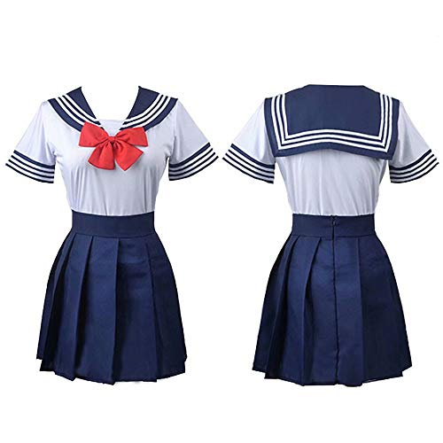 Sailor Moon Cosplay Disfraz jk Uniforme Marinero Traje Escuela Traje para Halloween Cosplay Fiesta Disfraces