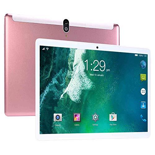 Tablet S20 de 10 Pulgadas, Llamada telefónica 3G y Tableta WiFi, 8GB RAM + 128GB ROM con procesador de Cuatro núcleos - Dual SIM, 8800mAh, Bluetooth, GPS, cámara de 8 + 13 MP