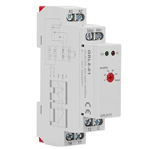 Niveaurelais, GRL8-01 Wasserstandsregler 10A AC/DC 24V-240V