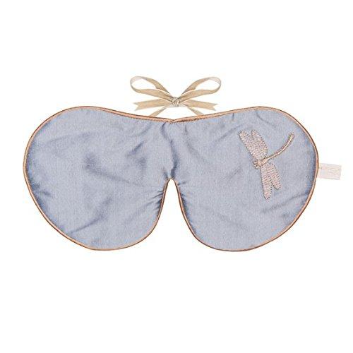 Holistic Silk Lavendel Oogmasker - Silver Dragonfly