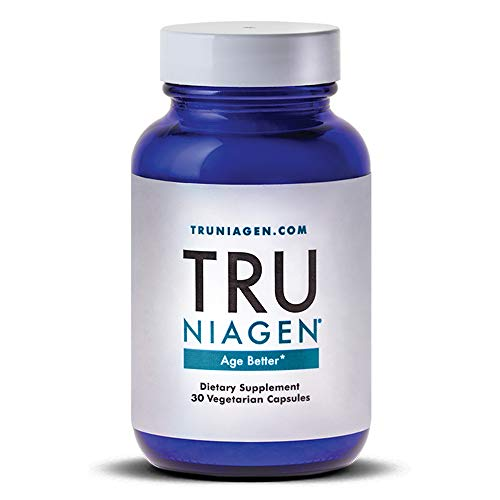 TRU NIAGEN – Nicotinamide Riboside NR | Advanced NAD Supplement | Vitamin B3 | 125mg Vegetarian Capsules, 250mg Per Serving | Developed by ChromaDex