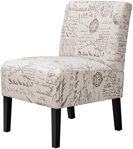 Best YAHEETECH Accent Chair Urban Style Dining Chairs Sofa Side Chairs with Solid Wood Legs Home Furnitur