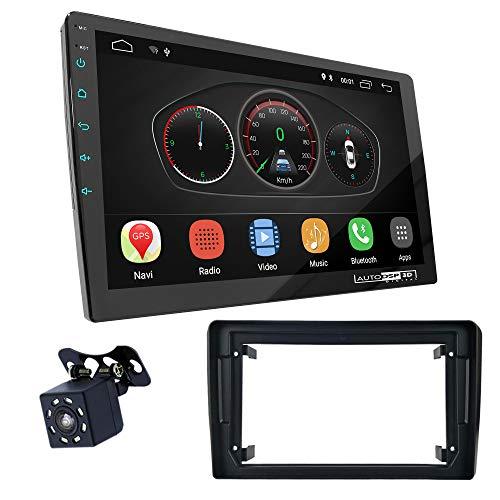 UGAR EX10 9 pollici Android 10.0 DSP Navigazione GPS per Autoradio + 11-450S Kit Fascia compatibile per Audi A3 (8P/con Symphony OEM-Radio) 2003-2008; A3 (8P/8PA) 2008-2012