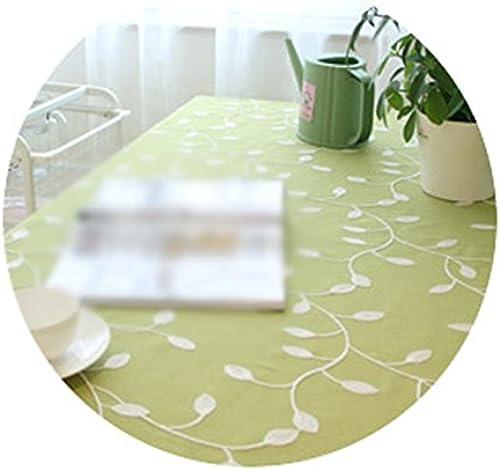 Tablecloth.A ASL BeStückte Tischdecke Baumwolltuch Couchtisch Tuch Land Stil Jane Europa Abdeckung Handtuch Tischdecke w en (Farbe    2, Größe   130  230CM)