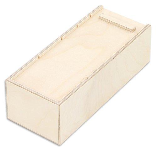 Lernkarteibox aus Holz für Lernkarteikarten - Karteikarten-Box Lern-Kartei-Kasten Vokabeln lernen Aufbewahrung Deutsch Englisch Französisch lernen Boxen Karteikasten Bürobedarf DIN A8 A7 Kinder