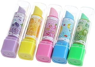 oyfel goma Mignon Pintalabios para Ecole Ecolier niño Niña cumpleaños 4pcs Color aleatorio