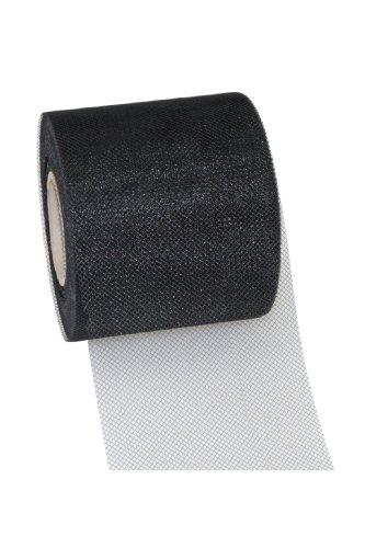 Präsent C.E. Pattberg GmbH & Co. KG Verona - Rollo de Cinta (Tul, 72 mm x 50m), Color Negro