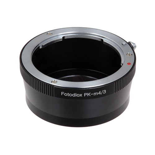 Fotodiox Lens Mount Adapter, Pentax K (PK) Lens to Micro Four Thirds System Camera such as Panasonic Lumix, OM-D & BMPCC