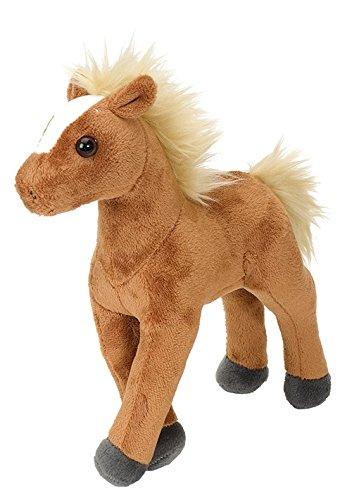 Lashuma Cuddlekins Plüschtier Braunes Pferd, Kuscheltier Pony 20 cm