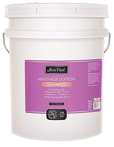For Sale! Bon Vital' Deep Tissue Massage Lotion for Deep Tissue Massages and Muscle Relaxation, Mois...