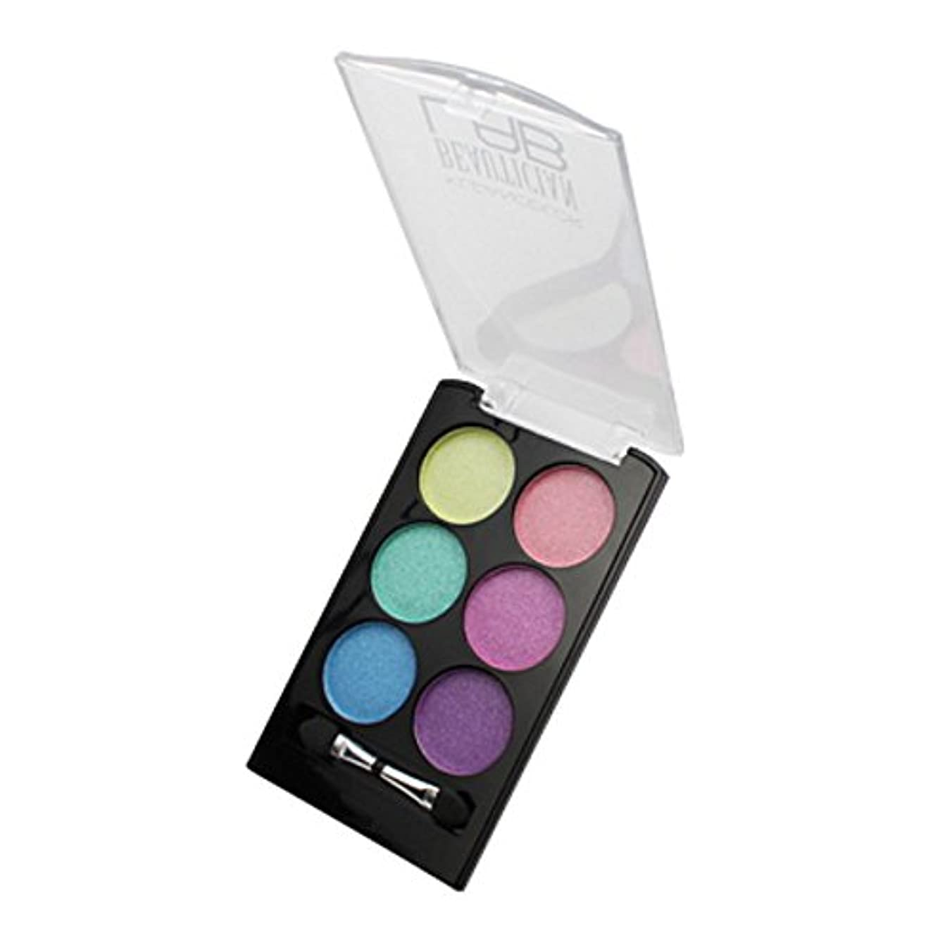 送料放課後交渉する(6 Pack) KLEANCOLOR Beautician Lab Shimmer Shadow Pallete - Cutting Edge (並行輸入品)