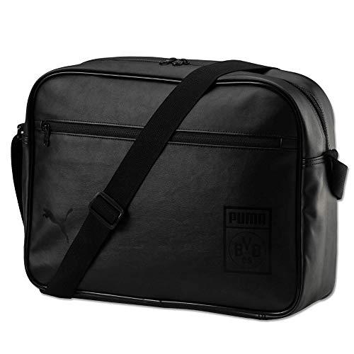 PUMA BVB Shoulder Bag tas, zwart, UA