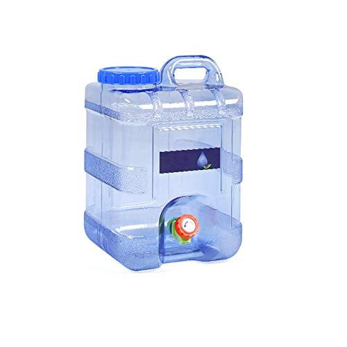 Kentop - Bidón de Agua portátil con Grifo, 15 l, para Exterior, Barbacoa, Viajes de Larga Distancia