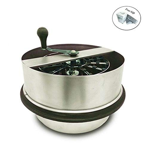 Check Out This Eight24hours 16 Metal Open Top Bowl Leaf Trimmer Hydroponic Plant Leaf Aluminum Trim...