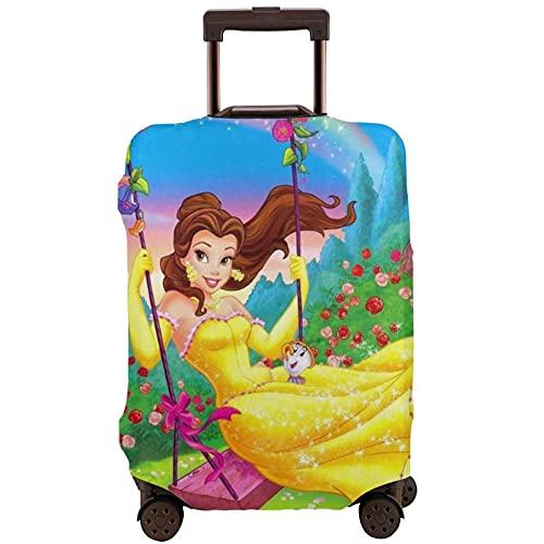 Beauty Beast - Protector de maleta de viaje único, lavable, bonito e interesante reconocimiento elástico