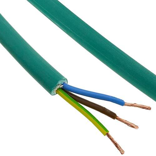 BeMatik - Bobina de Cable eléctrico de 3 Polos x 2.5 mm² 25 m Libre de halógenos LSZH