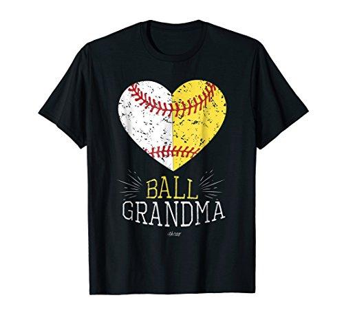 Mom Funny Baseball T Shirt Ball Funny Grandma Softball Gifts