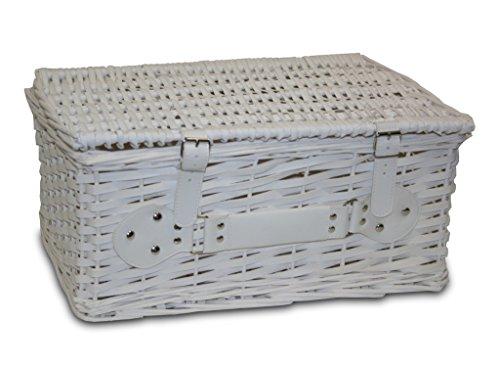 Maleta Mimbre White (43 × 34 × 22)