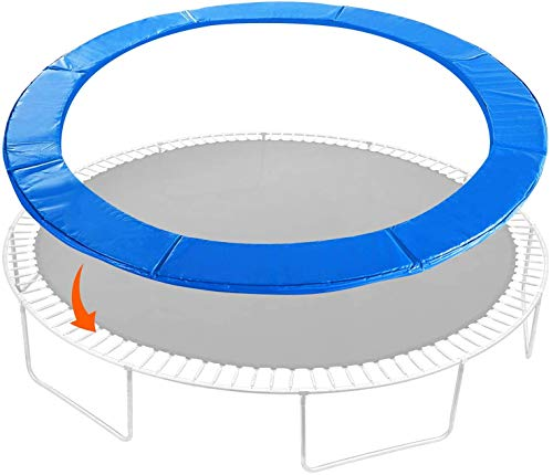 TRIPLE TREE Trampoline Replacement Safety Pad, Round Spring Cover Fits 10ft 12ft 14ft 16ft Trampoline, Waterproof Universal Spring Pad (12FT)