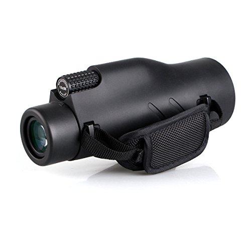 Svbony SV32 Monocolo 10x50 Professionale Potente HD Impermeabile Anti-Nebbia Monoculare Telescopio FMC Prisma BAK-4 con Cinturino a Mano Monocolo per Bird Watching Caccia Campeggio Pesca