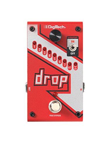 Digitech DROP-V-01, Pedale d'Effetti per Chitarra, 1, Rosso