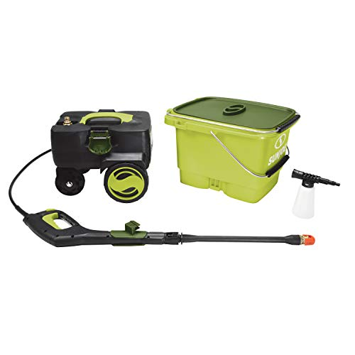 Product Image 3: Sun Joe SPX6001C-XR 1160 PSI Max Cordless Pressure Washer, Kit (w/5.0-Ah Battery + Quick Charger)