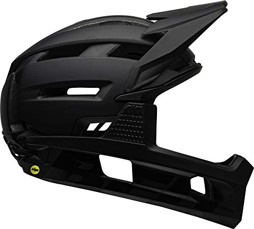 BELL Super Air, Casco Unisex, Matte Gloss Black, 55-59