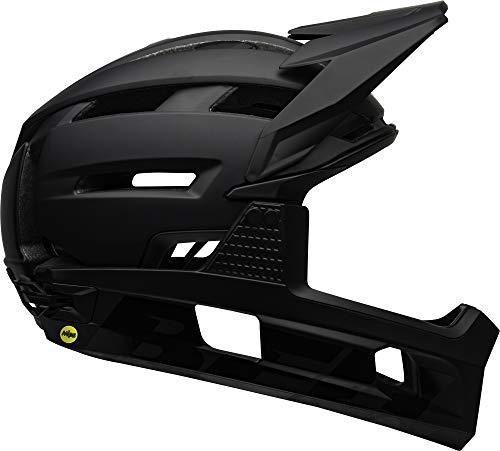 BELL Herren Super Air R MIPS Fahrradhelm MTB, Matte/Gloss Black, L | 58-62cm