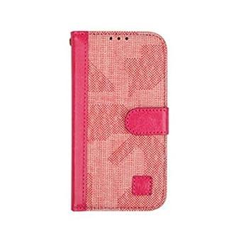 Merit Wallet Case for Luna TG-L800S  Pink Luna TG-L800S