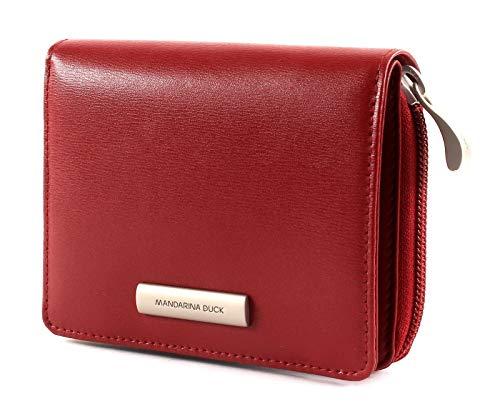 Mandarina Duck Hera 3.0 Zip Wallet M Red