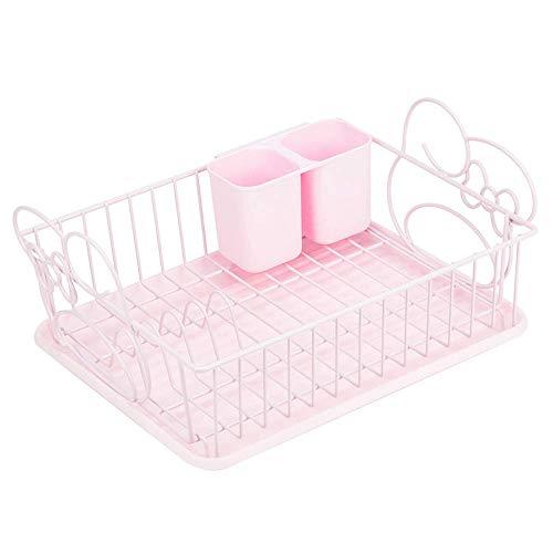 LLDKA Huishoudelijke keuken plank eetstokjes schotel rek opknoping beker houder Afvoerfilter zet schotel rek rek opslag benodigdheden