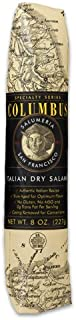 Columbus Salame Company Italian Dry Salame 8 Oz. Paper Wrapped Case of 12