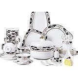 ZWJ Conjunto De Tazas Y Platillos Set Nordic Ceramic Laboration...