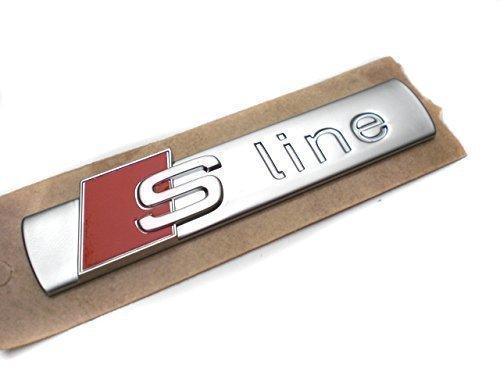 Original Audi Ersatzteile Audi S-Line Schriftzug Aufkleber A3 A4 A6 TT