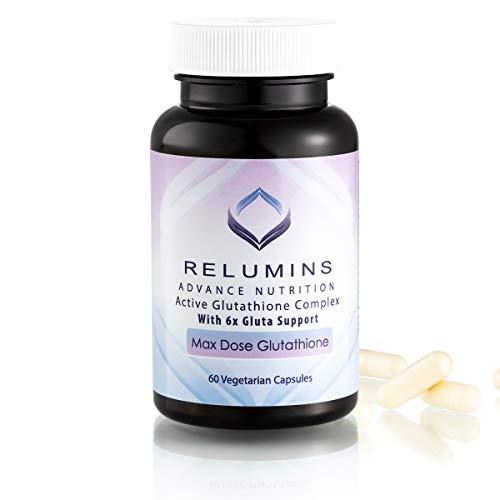 Relumins Advance Nutrition Active Glutathione Complex with 6X Gluta Support Max Dose Glutathione Formula