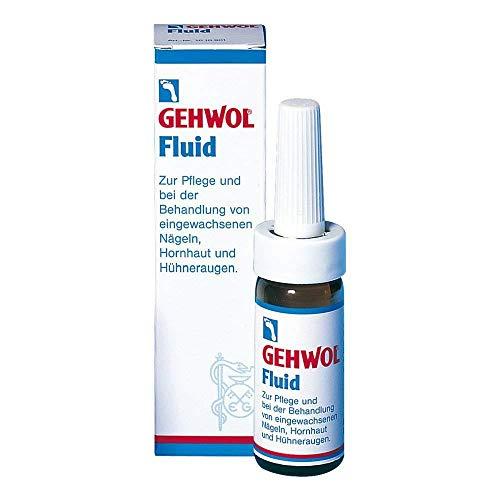 Gehwol Fluid zur Pflege von eingewachsenen Nägeln, Hornhaut und Hühneraugen, 15 ml