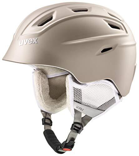 uvex Unisex– Erwachsene, fierce Skihelm, prosecco met mat, 55-59 cm