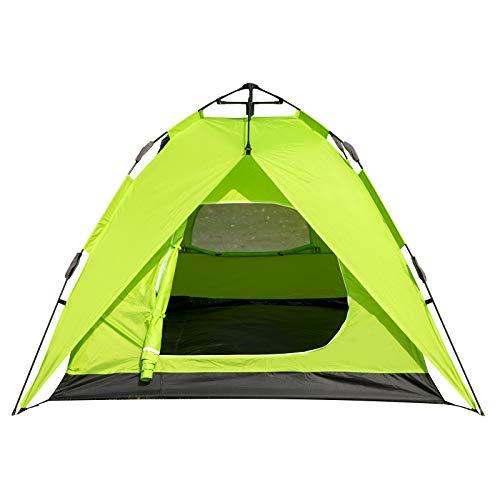 WOLTU Pop Up Wurfzelt 2-3 Personen Zelt Camping Festival Sekundenzelt leicht mit Quick-Up-System Igluzelt wasserdicht CPZ8142gn