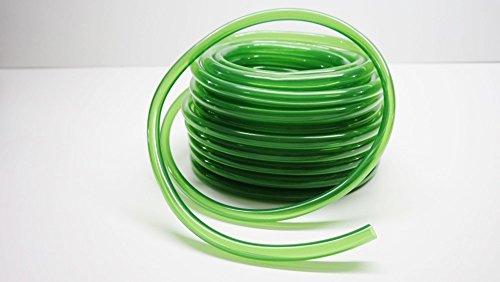 AquaOne Aquariumschlauch 12/16 mm 1,97€/m 15 Meter Wasserschlauch Aquariumzubehör Reinigung Wasserwechsel PVC grün
