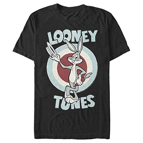 Men's Looney Tunes Hats Off Bugs Bunny T-Shirt - Black - X Large