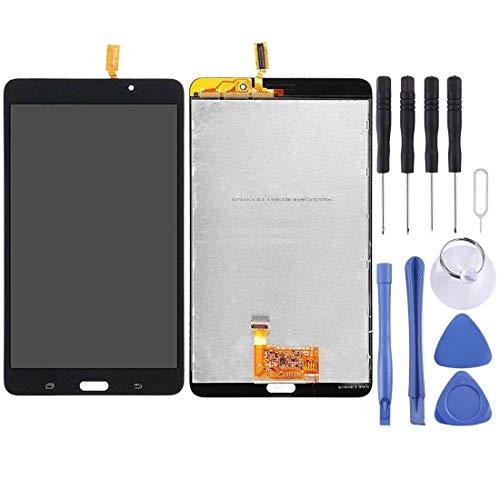 un known Reemplazo Herramientas de experimentos de Prueba Pantalla LCD y Montaje Completo de digitalizador para Galaxy Tab 4 7.0 / T230 Accesorio (Color : Black)