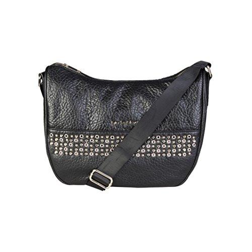 Blu Byblos INDIRA/_675705/_301/_NERO-ORO Crossbody Bags