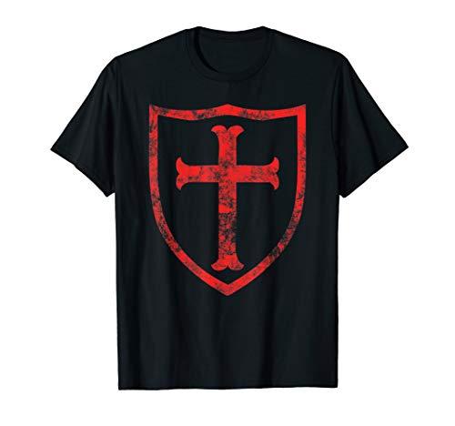 Tempelritter Deus Lo Vult Tshirt | Crusader Knight