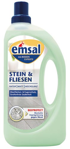 emsal Stein & Fliesen Bodenpflege - 5X 1 Liter