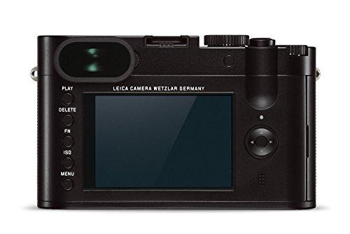 Leica Q 24.2 Megapixel Digital 35 MM Compact Camera (Black, Anodized, TYP...